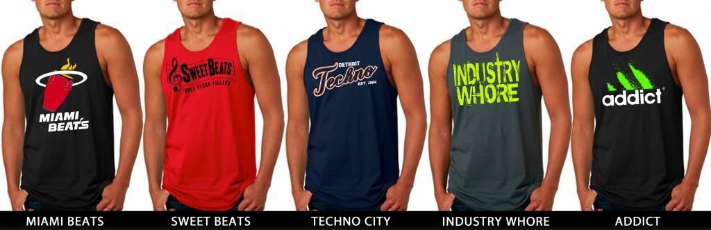 EDM Tank Tops from JimmyTheSaint Clothing