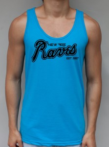 New Age Raves - Neon Blue Tank Top - EDC Clothing from JimmyTheSaint