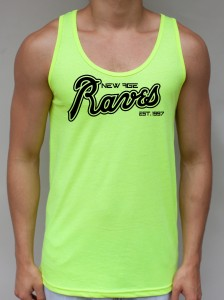 New Age Raves - Neon Yellow Tank Top - EDC Clothing from JimmyTheSaint