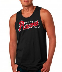 New Age Raves Black Tank Top Neon Red - Rave Clothing from JimmyTheSaint