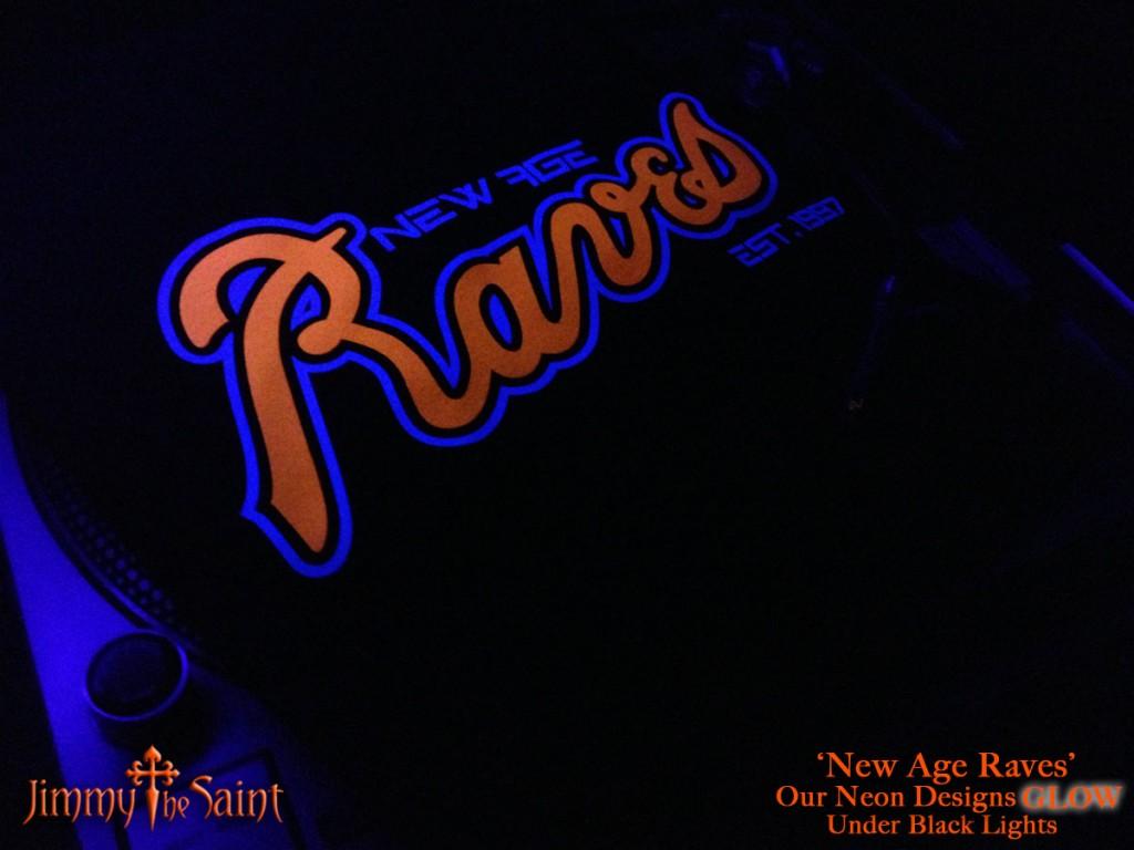 JimmyTheSaint - New Age Raves - Turntable - Black Light - Led Light