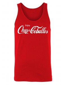 Enjoy Chus & Ceballos Men's Red Tank Top